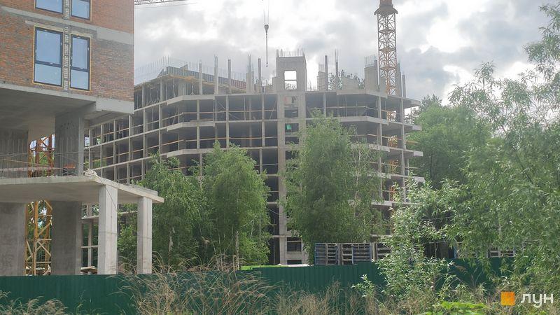 Ход строительства ЖК Madison Gardens, 4 дом, май 2021