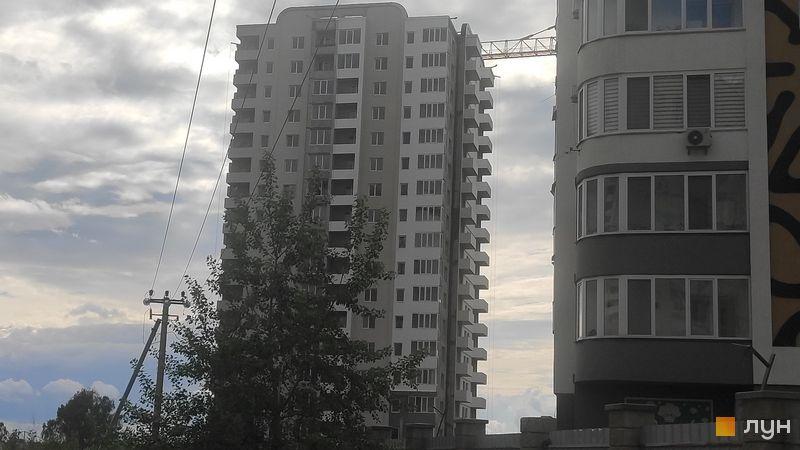 Ход строительства ЖМ Саванна Сити, 6 дом (корпус «Жираф»), май 2021
