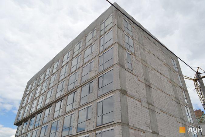 Ход строительства ЖК Містечко Підзамче, ЖК Новый Форт (секция А1), июнь 2021