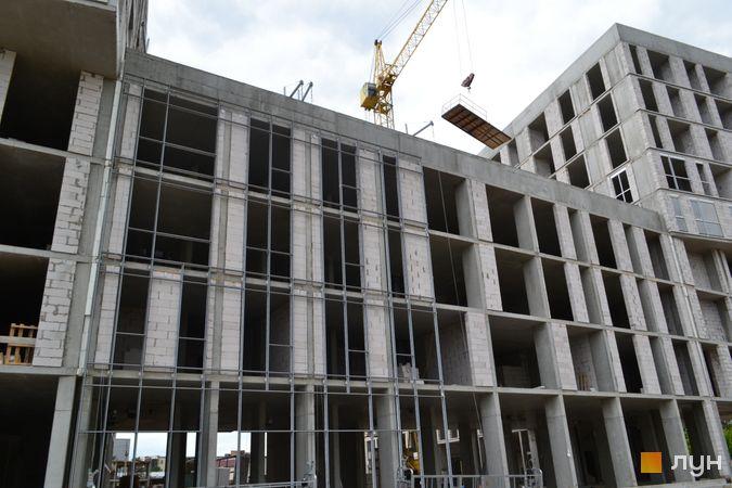 Ход строительства ЖК Містечко Підзамче, ЖК Вежа (секция А4), июнь 2021