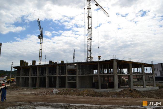 Ход строительства ЖК Містечко Підзамче, ЖК Вежа (секция 7.1), июнь 2021