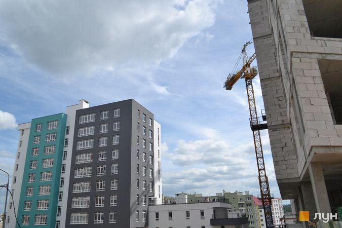 Хід будівництва ЖК Голоські кручі, 2 будинок, червень 2021