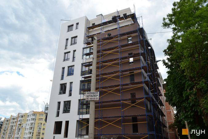 Ход строительства ЖК Велика Британія, 6 очередь (дом 6), июнь 2021