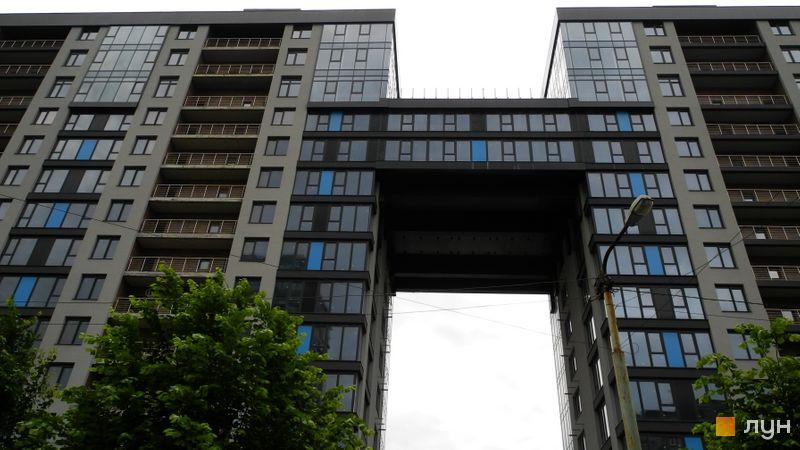 Хід будівництва ЖК Nebo, 1 будинок, червень 2021