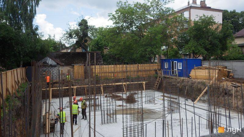 Хід будівництва Клубний будинок A Nova House, Будинок, червень 2021