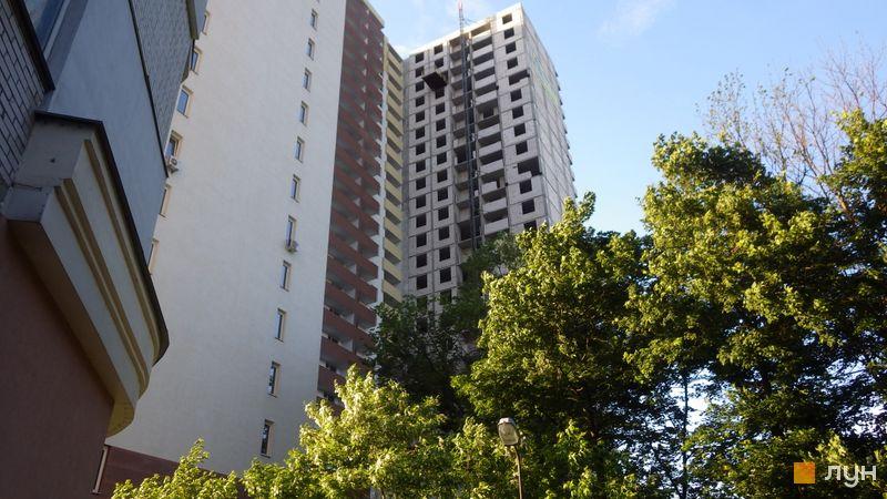 Хід будівництва ЖК Шевченківський квартал, Будинок 1, червень 2021
