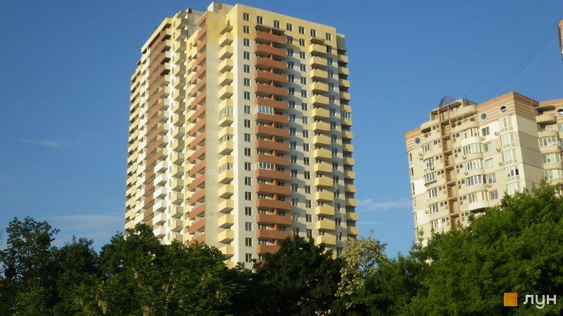 Хід будівництва ЖК Шевченківський квартал, 1 будинок, червень 2021