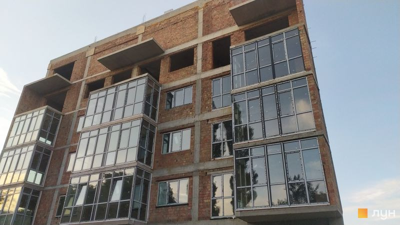 Хід будівництва вул. Докучаєвська, 5а, Будинок, червень 2021