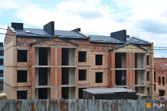 Хід будівництва ЖК Вілла Італія, 11-12 будинки, червень 2021