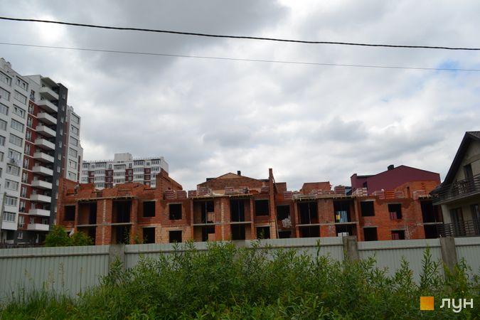 Хід будівництва ЖК Вілла Італія, 13-15, 18 будинки, червень 2021