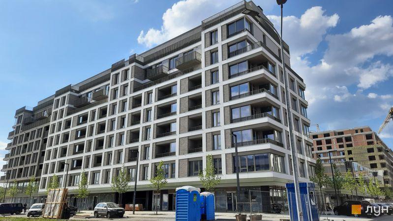 Хід будівництва Житловий район Rybalsky, 5 будинок, червень 2021