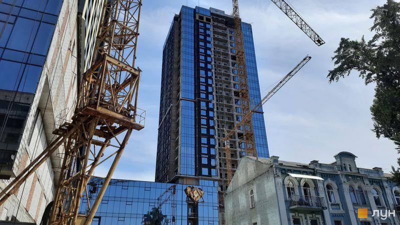 Ход строительства МФК Metropole, 3 дом, июнь 2021