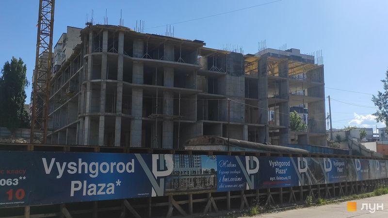 Хід будівництва ЖК Вишгород Плаза, Будинок, червень 2021