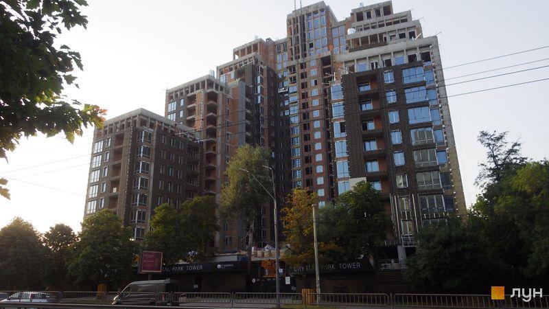 Ход строительства ЖК Crystal Park Tower, Дом, июнь 2021