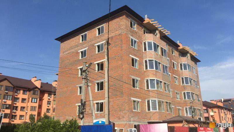 Хід будівництва Волошковий, 14 будинок, червень 2021