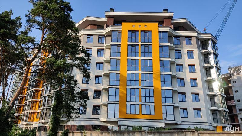 Хід будівництва ЖК На Прорізній 2, 1 будинок (секція 1), червень 2021