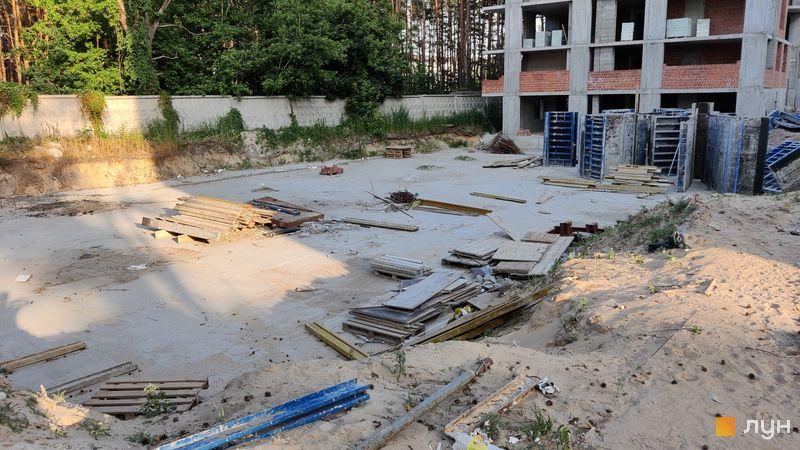 Хід будівництва ЖК На Прорізній 2, 2 будинок (секція 1), червень 2021