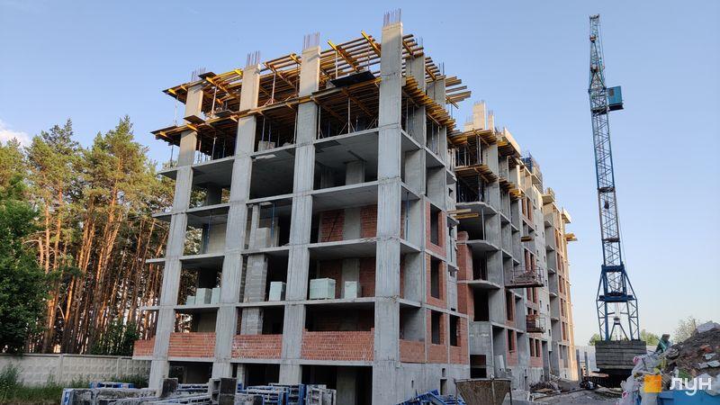 Хід будівництва ЖК На Прорізній 2, 2 будинок (секція 2), червень 2021