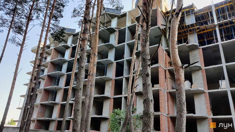 Хід будівництва ЖК На Прорізній 2, 2 будинок (секція 3), червень 2021