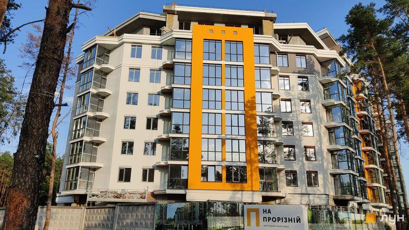 Хід будівництва ЖК На Прорізній 2, 1 будинок (секція 3), червень 2021