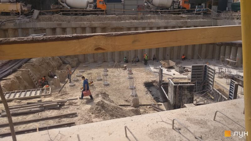 Хід будівництва ЖК АРСЕНАЛ House, , червень 2021