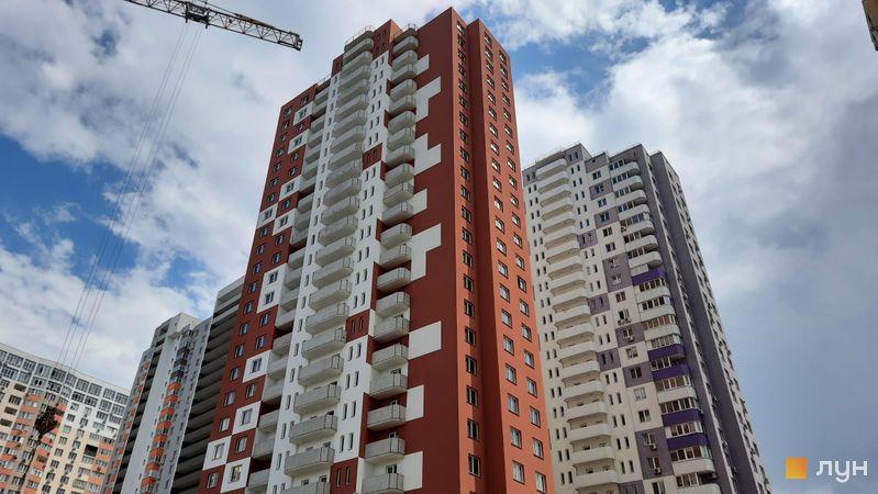 Хід будівництва ЖК Амурський (Lemonade), 2 будинок, червень 2021