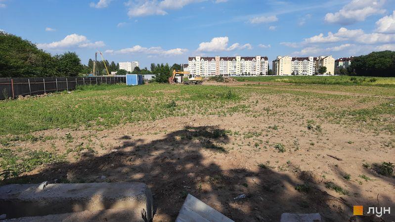 Хід будівництва ЖК Феофанія City, , червень 2021