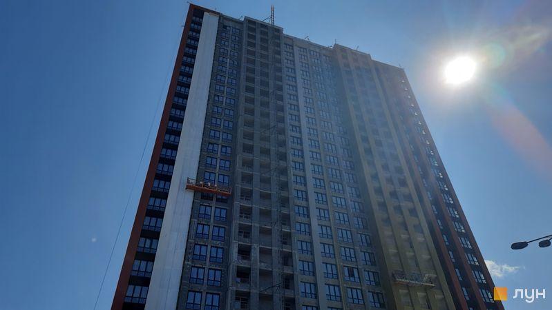 Хід будівництва DOCK32, 1, 2 будинки, липень 2021