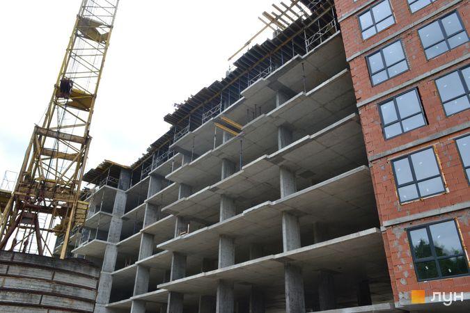 Хід будівництва ЖК Парк Арена, 3 секція, липень 2021