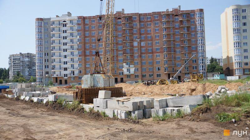 Ход строительства ЖК Теплый дом, 3 дом, июль 2021