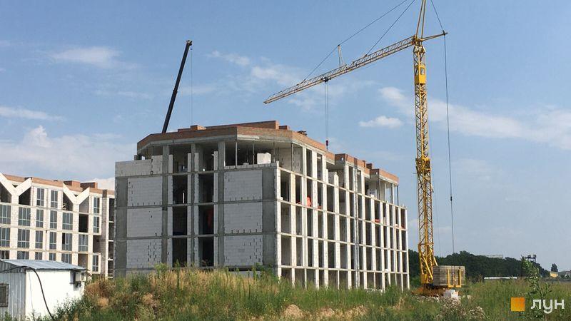 Хід будівництва ЖК Petrivsky Residence, 6 будинок, липень 2021