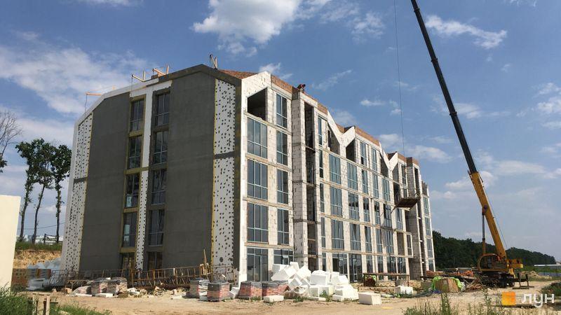 Хід будівництва ЖК Petrivsky Residence, 4 будинок, липень 2021