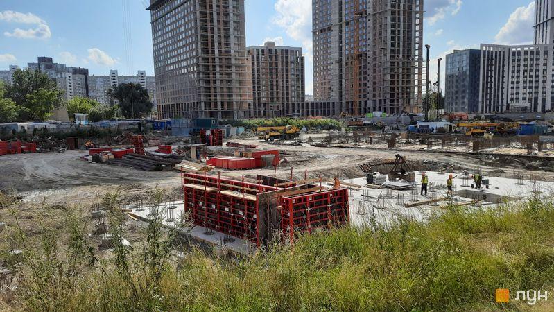 Хід будівництва ЖК Метрополіс, 4 будинок, липень 2021