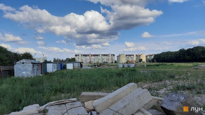 Хід будівництва ЖК Феофанія City, , липень 2021