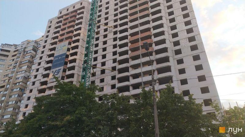 Хід будівництва ЖК SOLAR CITY, 1 будинок, серпень 2021