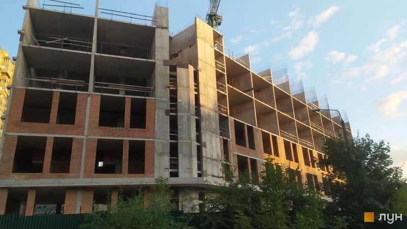 Хід будівництва ЖК SOLAR CITY, 3 будинок, серпень 2021