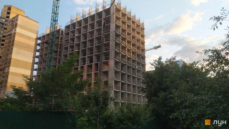 Хід будівництва ЖК SOLAR CITY, 2 будинок, серпень 2021