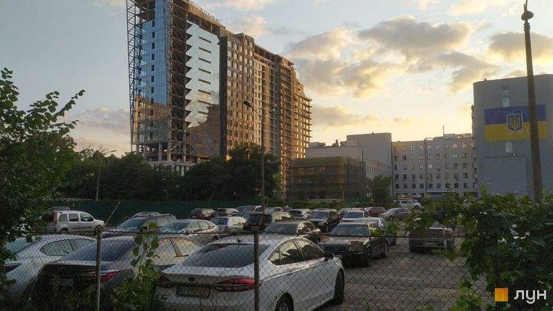 Хід будівництва ЖК SOLAR CITY, 4 будинок, серпень 2021
