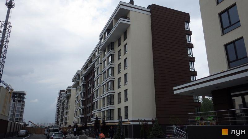 Ход строительства ЖК PARKLAND, 2 дом, июнь 2016