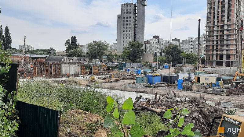 Хід будівництва ЖК Метрополіс, 4 будинок (секція 2), серпень 2021