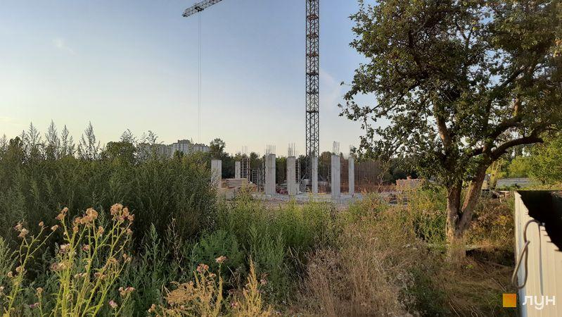 Хід будівництва ЖК Феофанія City, , серпень 2021