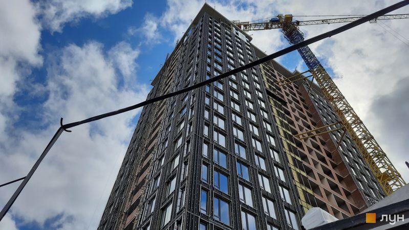 Хід будівництва ЖК Creator City, 1 будинок, серпень 2021