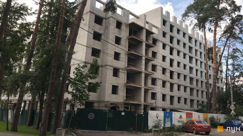 Ход строительства ЖК Фаворит Premium, 3 секция, сентябрь 2021