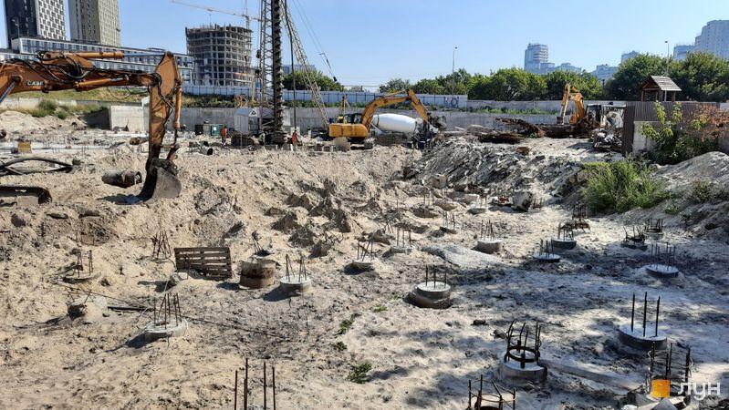 Хід будівництва вул. Зарічна, 45, , серпень 2021