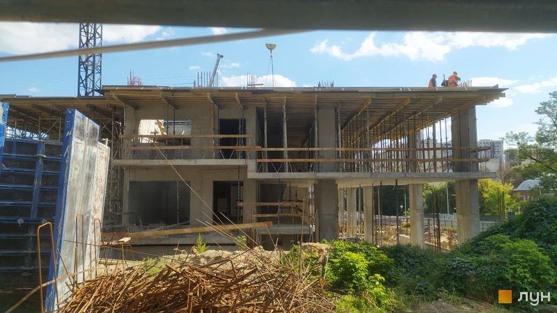 Хід будівництва ЖК TRIIINITY, 1 будинок, вересень 2021