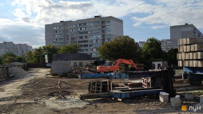 Ход строительства ЖК Банковский 2, 3 дом, сентябрь 2021