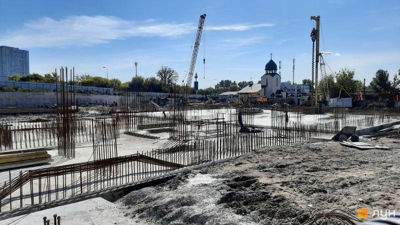 Хід будівництва вул. Зарічна, 45, , вересень 2021