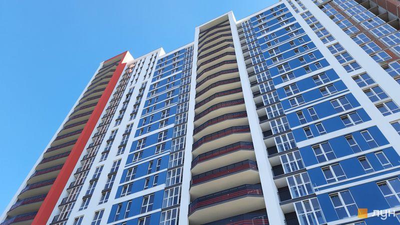 Ход строительства ЖК Причал 8, 1 дом (секции 3, 4), сентябрь 2021