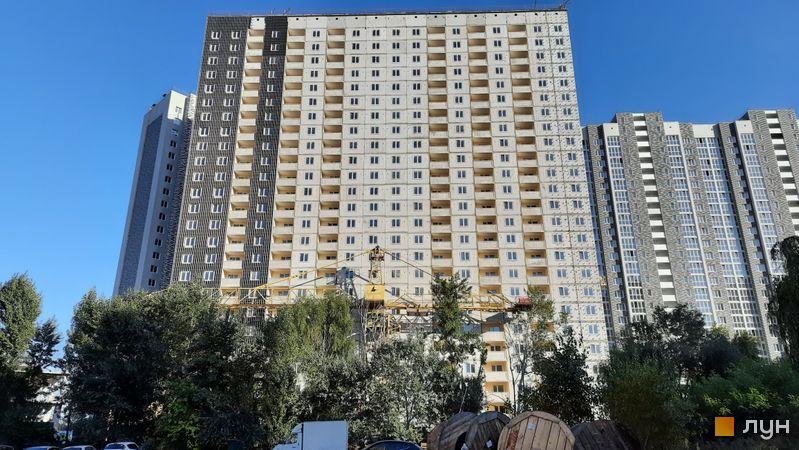 Хід будівництва ЖК Ревуцький, 3 будинок, вересень 2021