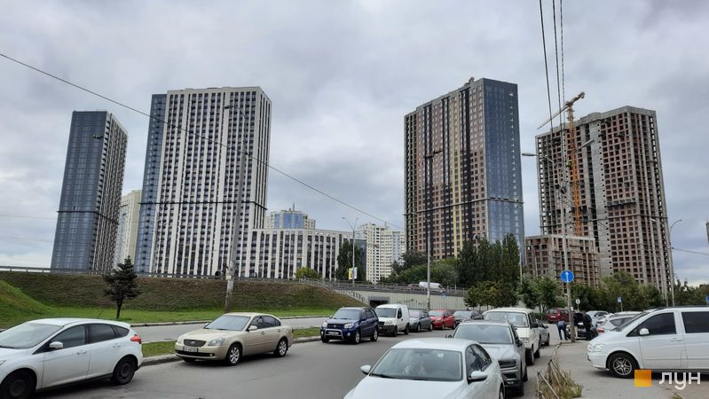 Хід будівництва ЖК Метрополіс, 1-3 будинки, вересень 2021